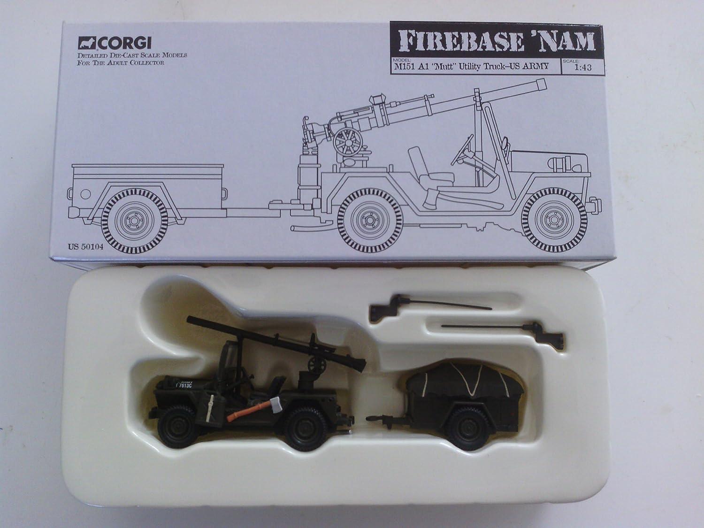 Corgi, M151 A2.5cm Mutt  UTILITY truck-US ARMY 1 43