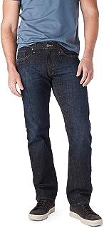 Signature by Levi Strauss & Co. Men's S51 Straight Fit Premium Jeans (Headlands Dark Wash)