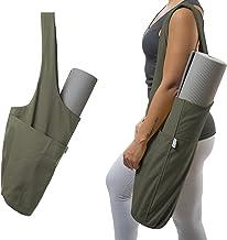 Yogiii Yoga Mat Bag | The Original YogiiiTote | Yoga Mat Tote Sling Carrier with Large Side Pocket & Zipper Pocket | Fits ...