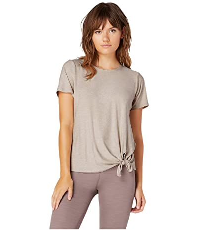Beyond Yoga Lightweight All For Ties Tee (Sand Swept/Desert Suede) Women