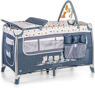 Innovaciones MS 630301 - Cuna de viaje, estructura de aluminio - Azul