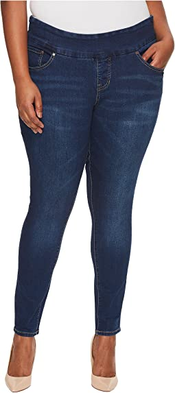 Jag Jeans Plus Size - Plus Size Nora Pull-On Skinny Butter Denim in Flatiron