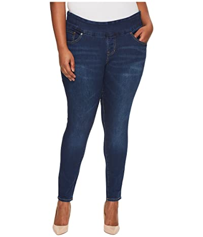Jag Jeans Plus Size Nora Pull-On Skinny Butter Denim in Flatiron (Flatiron) Women