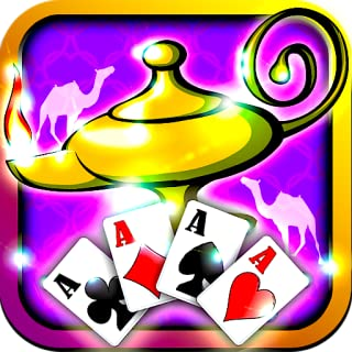 Genie Jackpot Aladdin Solitaire Lamp Magic Stroke Free Solitaire Games for Kindle 2015 Unique Solitaire Classic Original Cards Games
