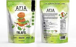 Frozen Gluten free/Vegan Falafel - Pack of 10 Bags (140 count Falafel) - Just Heat and Eat!