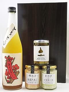 〔セット商品〕とろとろの梅酒 720ml + ディップソース3種セット