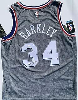 Charles Barkley Autographed Signed Memorabilia Philadelphia 76ers City Edition Basketball Jersey PSA/DNA