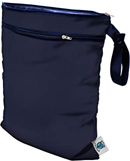 Planet Wise Wet/Dry Bag, Navy, Made in The USA