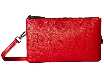 Matt & Nat Dwell Triplet (Red) Handbags