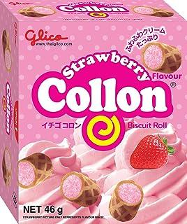 Glico Collon Strawberry Biscuit, 46g