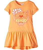 Kenzo Kids - Ruffled Tiger Dress (Toddler/Little Kids)