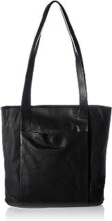 Pieces Damen PCTANIA Leather Shopper Umhängetasche