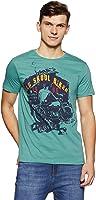 People Men's Plain Regular Fit T-Shirt