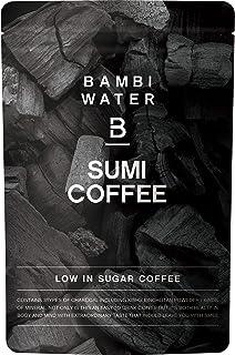 バンビウォーター 炭コーヒー 150g カフェインレスで難消化デキストリン・ビフィズス菌・乳酸菌を配合!食物繊維もたっぷりなチャコールクレンズで置き換えダイエット (微糖)