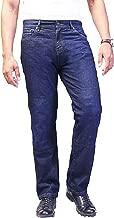 HB Men's Bikers Dupont Kevlar Jeans - Motorcycle Motorbike Jeans