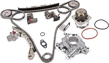 Evergreen TK3035WOPT Timing Chain Kit, Oil Pump, and Water Pump Fits: Nissan Altima Maxima 350Z Murano Infiniti FX35 G35 3.5L VQ35DE