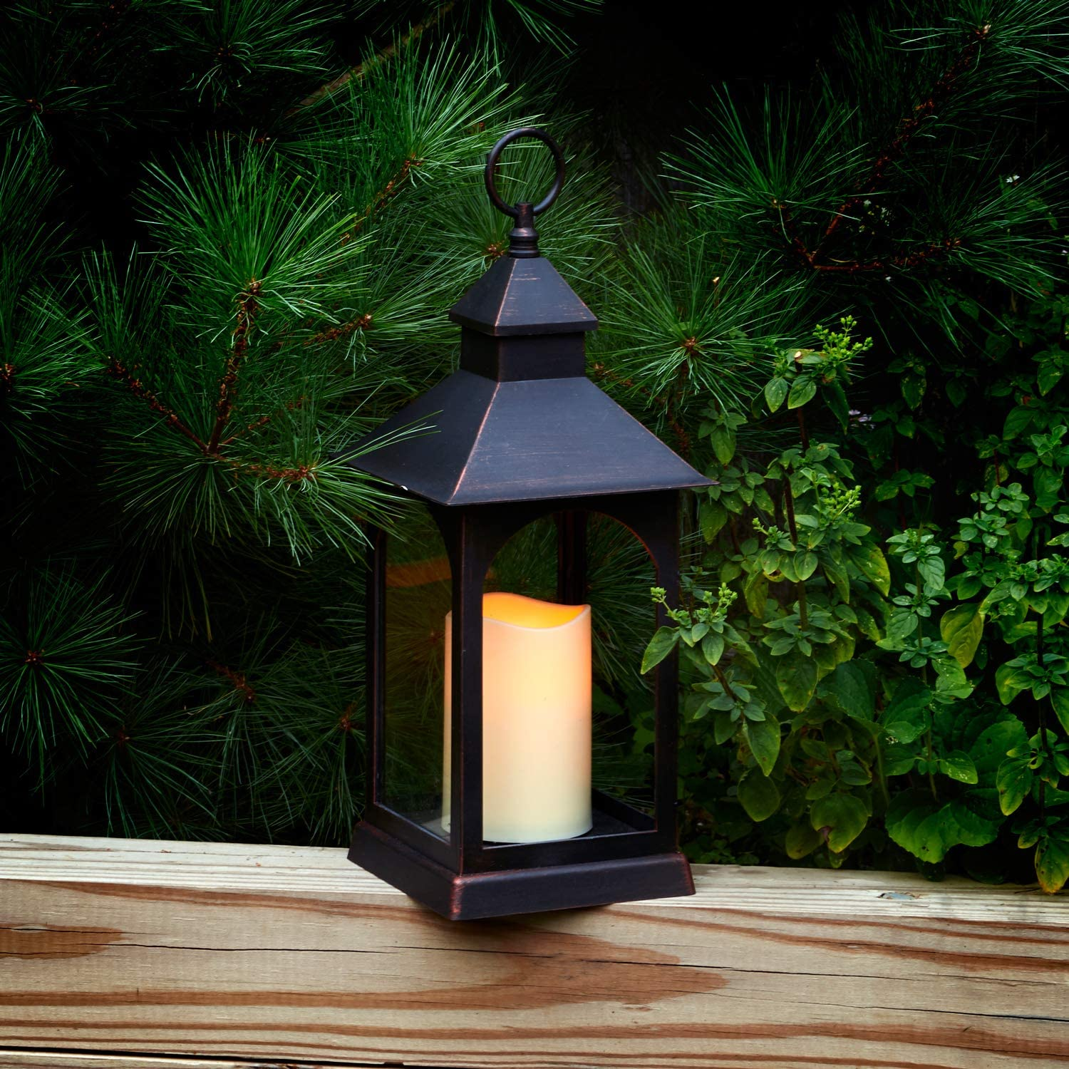 Cheap bargain Outdoor Courier shipping free shipping Table Lantern for Patio - Waterproof Tall Batt Inch 14