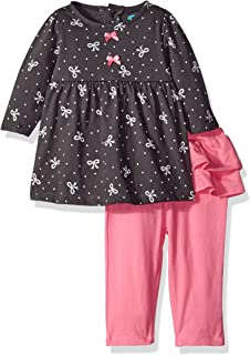 BON BEBE Baby Girls' 2 Piece Top and Skegging Pant Set