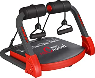 eHUPOO Core Strength & Abdominal Exercise Trainers, Abdominal Training Machine,All in One Core Strength Workout Fitness Equipment with Resistance Straps for Home Gym Workout Weight Loss.USA Patented