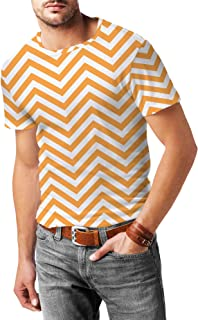 Rainbow Rules Chevron Stripes Mens Sport Mesh T-Shirt