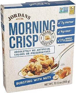 JORDANS Morning Crisp Bursting with Nuts Cereal, 12.5oz Box