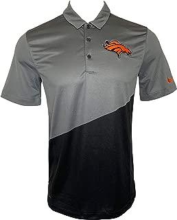 Nike Men's T-Shirts Denver Broncos NFL Football T-Shirt Dri Fit