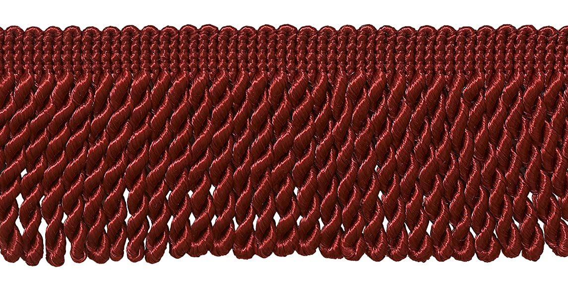 DecoPro 10 Yard Value Pack of Red 2.5 Inch Bullion Fringe Trim, Style# EF25 Color: E13 (30 Ft / 9.1 Meters)