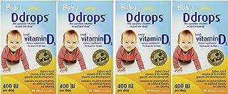 Baby Ddrops® 400 Iu 90 Drops 4 Pack