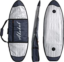 DORSAL Travel Longboard Surfboard Bag 96 Schwarz//Grau