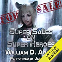 super sales on super heroes audiobook