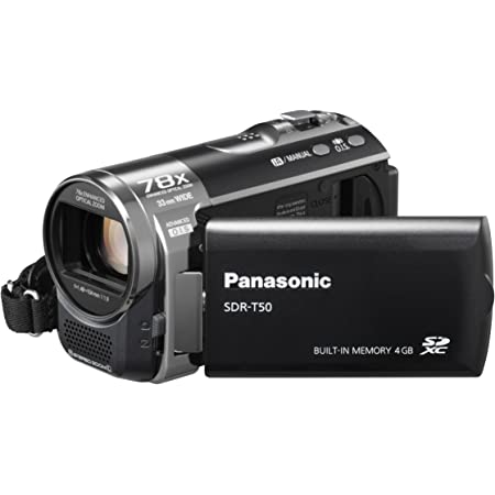 Panasonic Sdr H85eg R Camcorder Rot Kamera