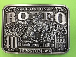 2015 Hesston National Finals Rodeo Belt Buckle (adult)