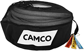 Camco RV Equipment Storage Utility Bag with Identification Tags for Organization-Conveniently Stores Electrical Cords, Fre...