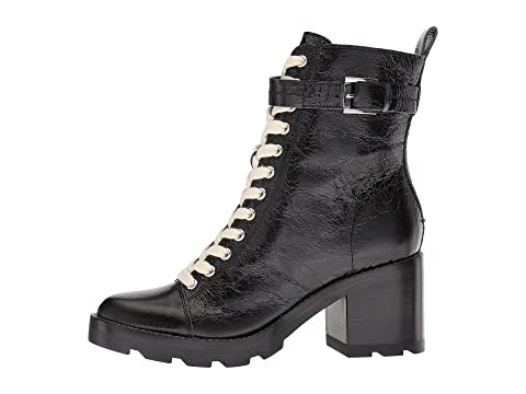 Negro Fisher Waren Cuero Textura Leatherblack Con Marc Ltd De q1wdIx7v7