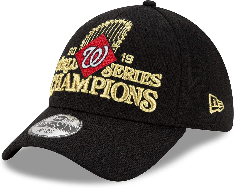 New Era Washington Nationals 2019 World Series Champions Locker Room 39THIRTY - Black
