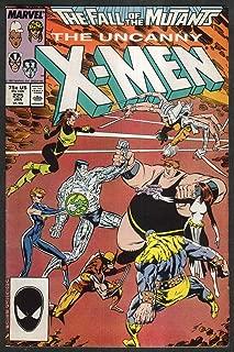 UNCANNY X-MEN #225 Marvel comic book 1 1988 Fall of the Mutants