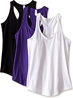 Clementine Apparel Racerback Tank Tops for Women Activewear Running Gym 3 Pack