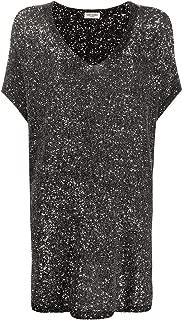SAINT LAURENT Luxury Fashion Womens 615484YAOW21040 Silver Dress   Spring Summer 20