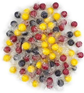 Rain-blo Bubble Gum Balls, Cherry Grape And Apple Flavors, Individually Wrapped, (Pack of 4 Pounds)