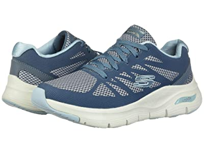 SKECHERS Arch Fit (Navy/Light Blue) Women