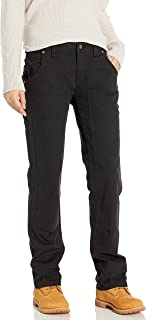dickies Women's Relaxed Straight Stretch Duck Double-Front Carpenter Pant