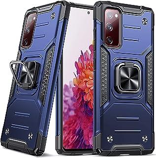 DASFOND Armor Hülle für Samsung Galaxy S20 FE 5G/4G Case Militärische Stoßfeste Handyhülle [Upgrade 2.0] 360 ° Ständer Cov...