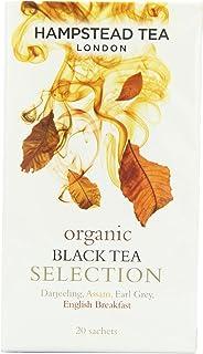 Hampstead Tea London Organic Black Tea Selection 20 Beutel 40g