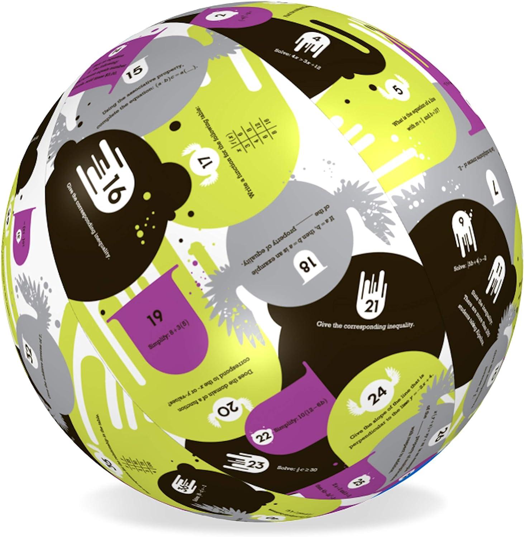 American Educational Vinyl Algebra 1Clever Catch Ball, 61cm Durchmesser