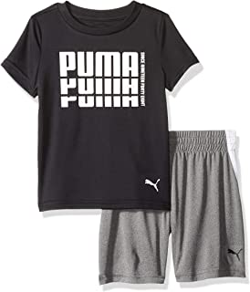 PUMA Toddler Boys' T-Shirt & Short Set