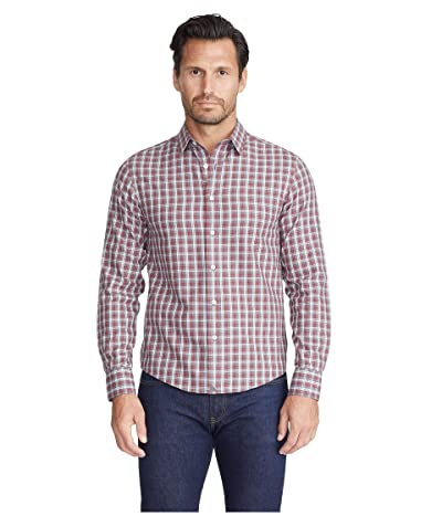 UNTUCKit Wrinkle-Free Flannel Sauris Shirt (Red) Men