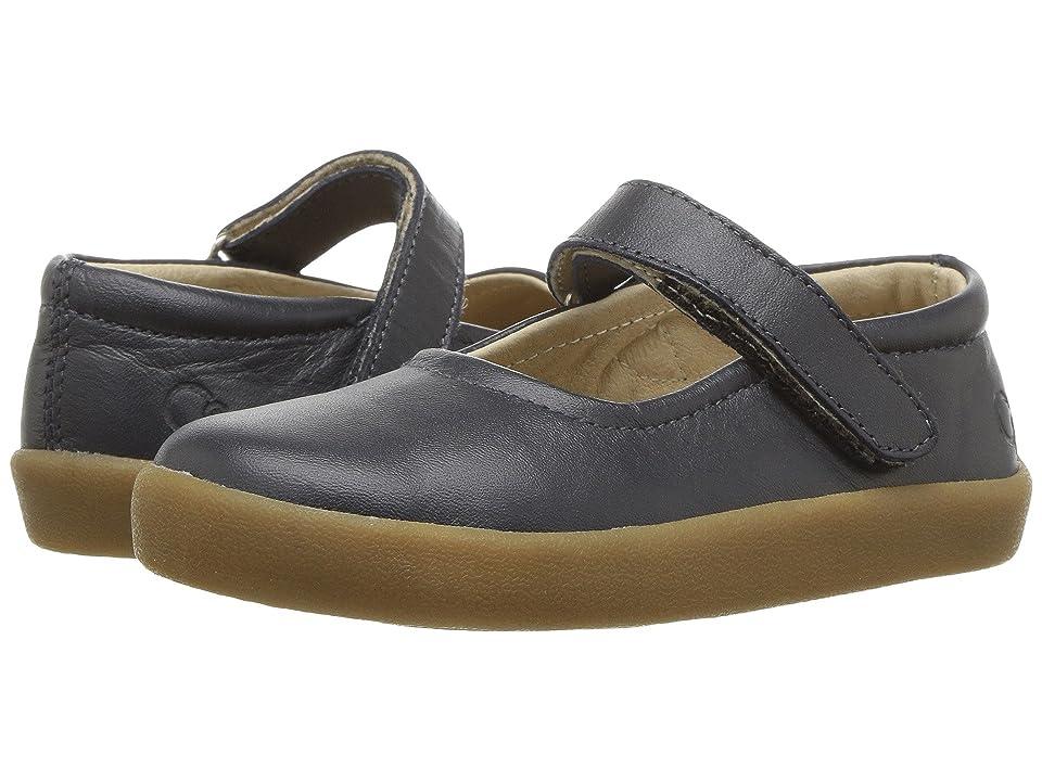 Old Soles Missy Shoe (Toddler/Little Kid) (Navy) Girl