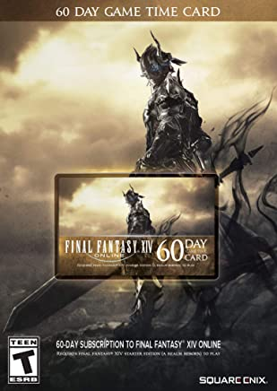 Final Fantasy XIV Online: 60 Day Time Card [Online Game...