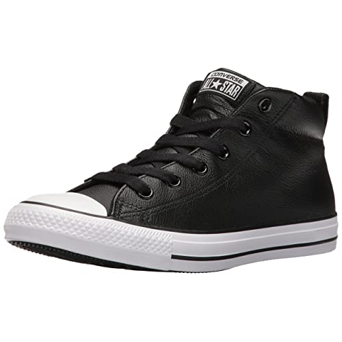 b2cc28916a8 Converse Men s Street Leather Mid Top Sneaker