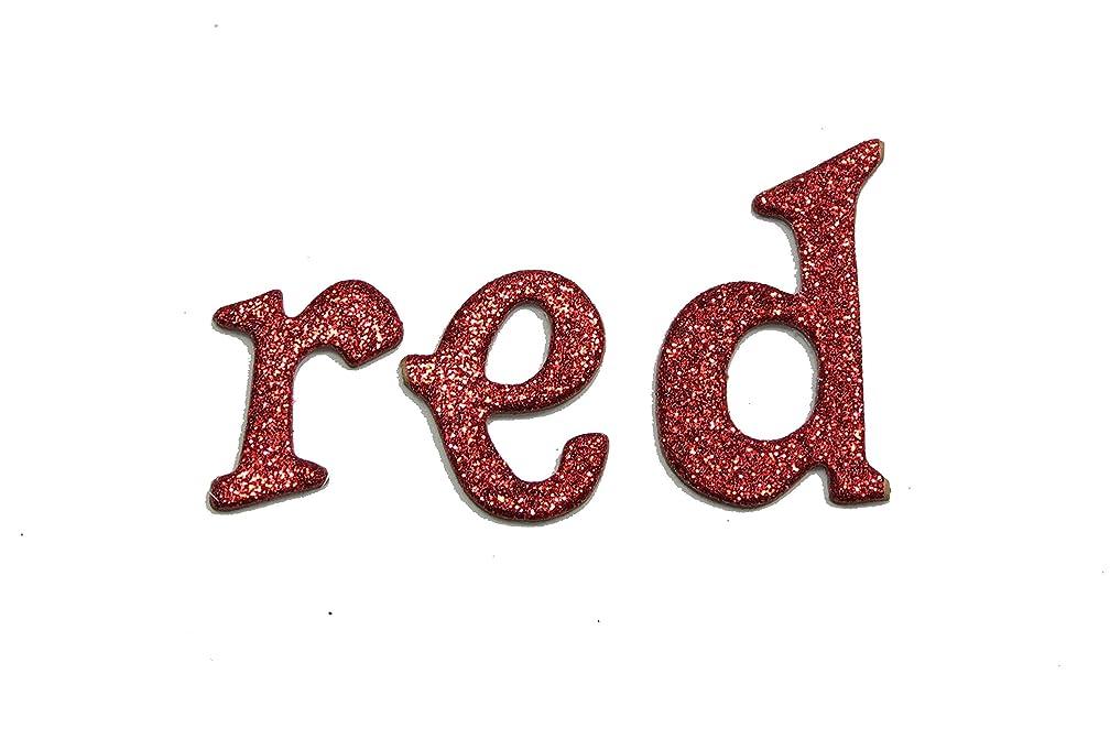 Red Metallic Glitter HandCut 1.5